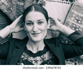 Woman in Kruje