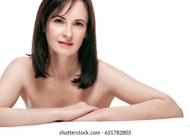 beauty Woman with smooth skin