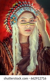 Apache Warrior Face Paint