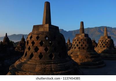 beautyfull borobudur temple