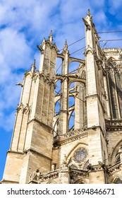 Die Kathedrale von Beauvais, die Kathedrale des Heiligen Peter von Beauvais, die römisch-katholische Kirche ist im gotischen Stil im Beauvais, Frankreich