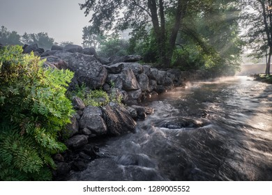 Beaver Brook in Londonderry and Windham, New Hampshire.