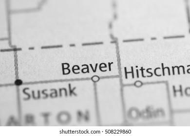 Beaver. Kansas. USA.
