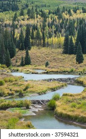 Beaver Ponds on McClure Pass, Colorado