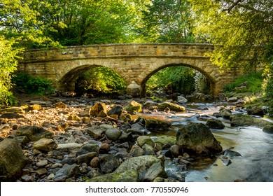 Beck Hole Bridge in the North York Moors Natioanl Park