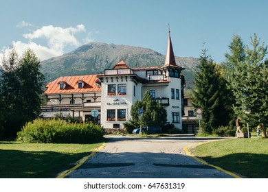 "Bed and breakfast ""Villa Dr. Szontagh"". High Tatras, Slovakia, August 26, 2016"