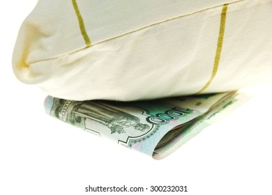 Bed inflation. Isolation on a white background.