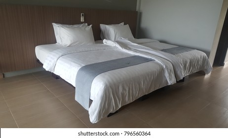 bed room in hotel