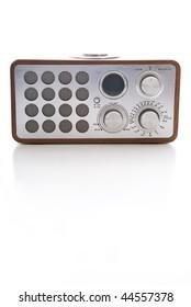 Bed side clock radio.