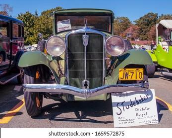 Bedford, Nova Scotia, Canada - September 16, 2012 : 1931 Studebaker Dictator Regal at Annual Memory Lane Show & Shine, Bedford Place Mall.