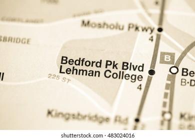 Bedford Peak Blvd Lehman College. Lexington Av/Pelham Express Li