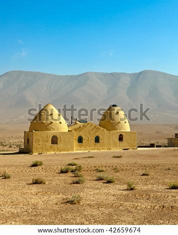 bedouin beehive houses syrian desert stock photo edit now 42659674