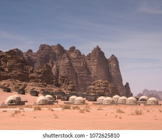 Bedouin Encampment Wadi Rum Urts and Tents