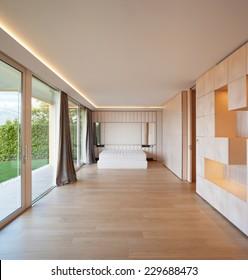 bedroom, bed, minimal,