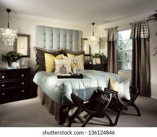 Bedroom Interior Design. Luxury Interiors of Homes
