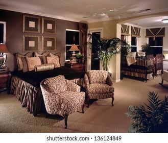 Bedroom Interior Design. Luxury Interiors of Homes