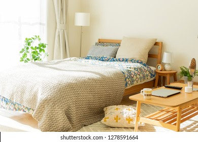 Bedroom living alone