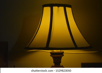 Bedside glowing lamp, this can be used to put on any bedside table and it glows very nice makes room awesome.