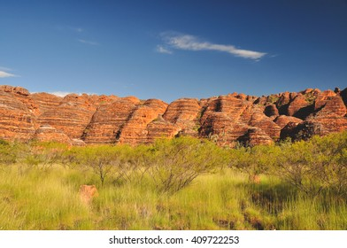 Bee Hive formations at the Bungle Bungles in Western Australia