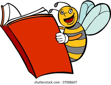 Bee Reading Book