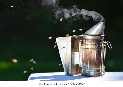 Bee Smoker Images, Stock Photos & Vectors | Shutterstock