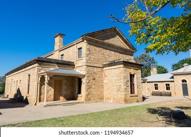 Beechworth Court House, where Ned Kelly appeared, in Beechworth in Victoria