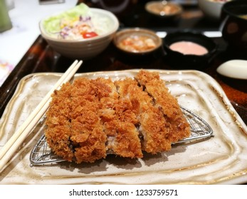 Beef fried with flour Japanese Food