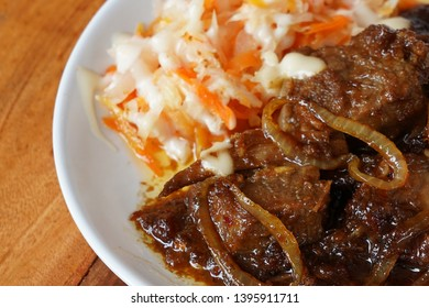 beef gongso tradisional food in central java indonesia