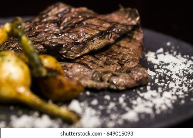 Beef meat skirt steak
