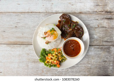 beef rendang rice