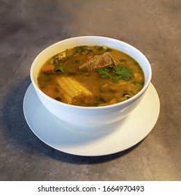 Beef Rib Soup with Vegetables