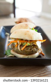 Beef Sliders with Cabbage Slaw