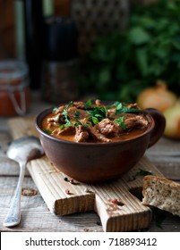 Beef stew (goulash) - rustic style