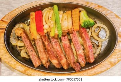 Beef Teppanyaki recipe.(Japanese Steak)