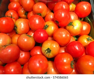 Beef tomatoes background