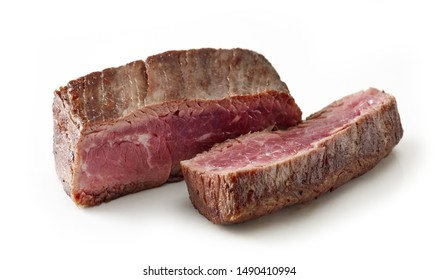 beef wagyu steak meat isolated on white background