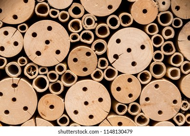 Beehive Honeycomb Nest Circular Abstract Design