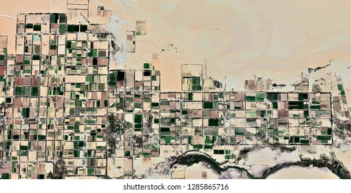 Beehive, tribute to Picasso, abstract photography of the deserts of Africa from the air, aerial view, abstract expressionism, contemporary photographic art,