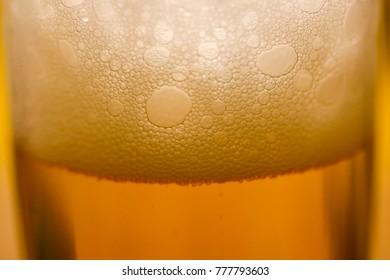 beer in beerglas - texture