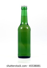 Beer bottle.