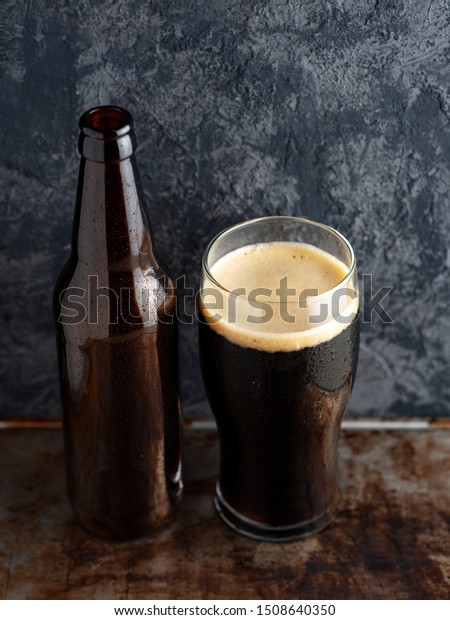 Superb Beer Bottle Full Glass Craft Beer Stock Photo Edit Now Alphanode Cool Chair Designs And Ideas Alphanodeonline