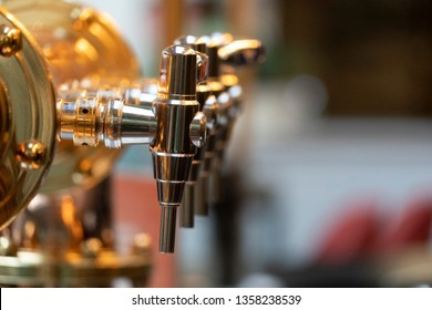 beer dispensing system close up