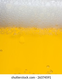 beer foam, background