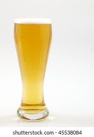 Beer glass.