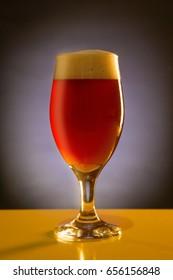 Beer Glass - Dunkel - Dark Beer - homebrew