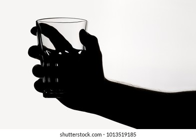 beer glass in hand
