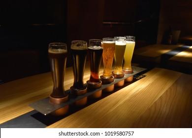 beer glass tasting