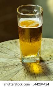Beer glass,Beer .