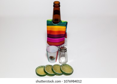 Beer having a fiesta for cinco de mayo