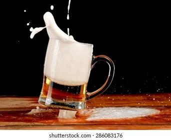 Beer mug jump